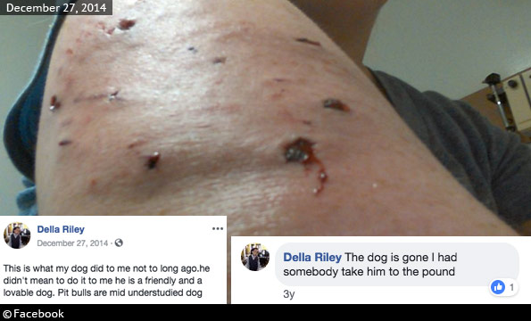 Della Riley killed by pit bull west price hill