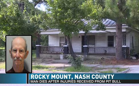 Rocky Mount Man Found Dead pit bulls