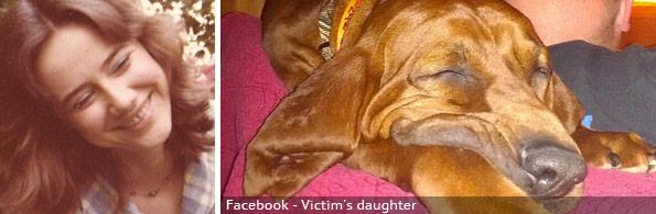Arlene Renna fatal coonhound attack, breed identification photograph