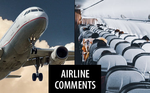 comments from airlines