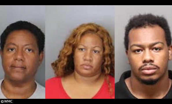Three relatives indicted after the dogs killed Doris Arrington