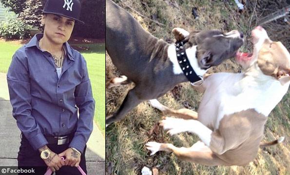 Alexandria Torregrossa's pit bulls crushed a teenager's trachea